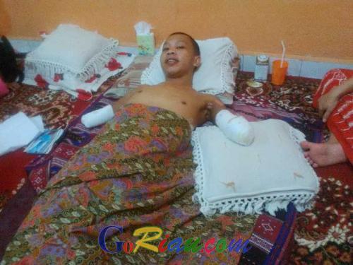 Adi Prasetyo : Saya Ditelantarkan di Rumah Sakit, Pemborong dan Manajemen Alfamart tidak Peduli