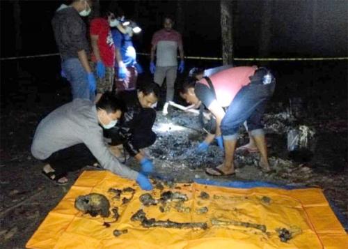 Pukul, Seret dan Bakar Korbannya, Ternyata Ini Motif Pelaku Pembunuh Adik Ipar di Kuansing