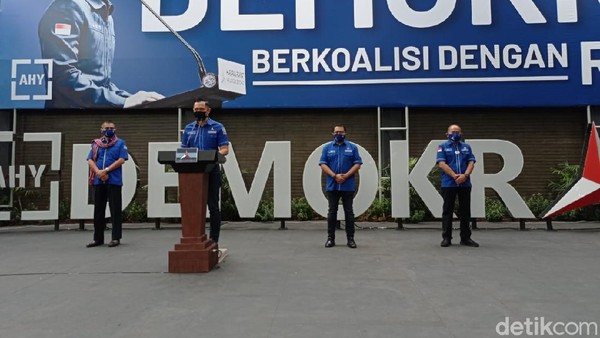 AHY Duga Orang Lingkaran Jokowi Terlibat Gerakan Kudeta Partai Demokrat