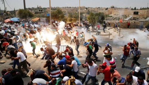 Militer Israel Tembak Warga Palestina yang Sedang Shalat Berjamaah