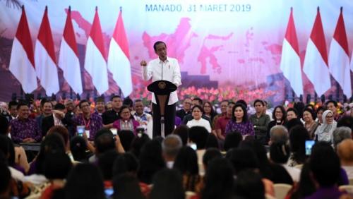 Jokowi Imbau Pendeta Ajak Seluruh Jemaat Gereja Gunakan Hak Pilih 17 April