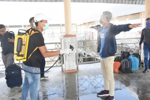 Jumlah Penumpang dari Malaysia ke Bengkalis Mulai Menurun
