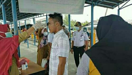 Angkutan Umum Pelalawan Diminta Sediakan Hand Sanitizer