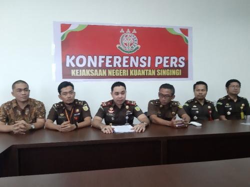 Dugaan Korupsi Setda Kuansing, Mantan Plt Sekda dan Empat Pejabat Lainnya Ditetapkan Tersangka