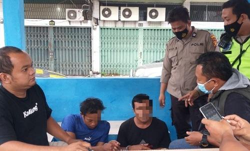 Gara-gara tak Pakai Helm, Dua Pria di Pekanbaru Akhirnya Ketahuan Bawa Sabu