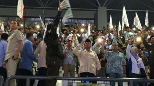 Pidato di Hadapan Buruh, Prabowo: Mau Jadi Kambing atau Rakyat yang Terhormat?