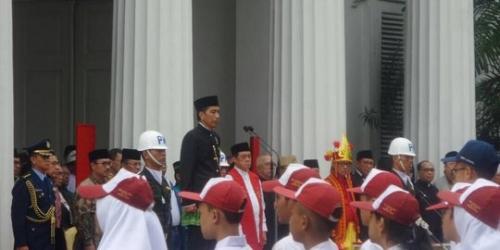 Jokowi Ajak Ulama Amalkan Pancasila