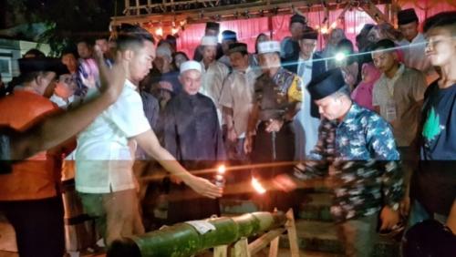 Festival Lampu Colok dan Meriam Bambu di Kepulauan Meranti Resmi Dibuka