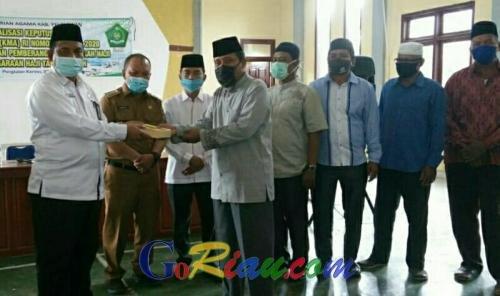 Kemenag Pelalawan Sosialisasikan Pembatalan Haji, Paspor Dikembalikan