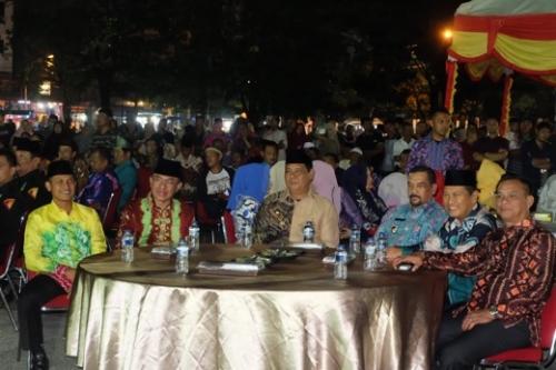 Halal Bihalal Bupati bersama Gubernur Kalsel dan Masyarakat Banjar di Inhil