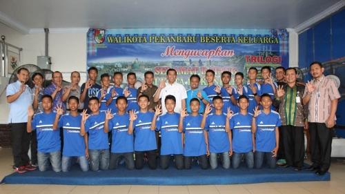 Lepas Klub Pandawalima FC U-14 ke Piala Menpora, Walikota: Jaga Sportifitas dan Nama Baik Daerah