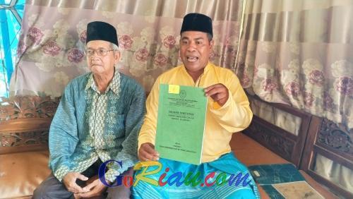 Tengku Nazir Sebut Penabalan Tengku Ridwan dan Tengku Muchtar Anum Sebagai Pewaris Sultan Siak Ilegal