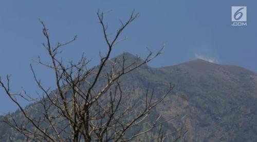 Lebih 15 Juta Kubik Magma Sedang Bergerak ke Permukaan Gunung Agung