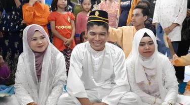 Baru Menikah, Pria Malaysia Ini Miliki 2 Istri Sekaligus, Begini Ceritanya