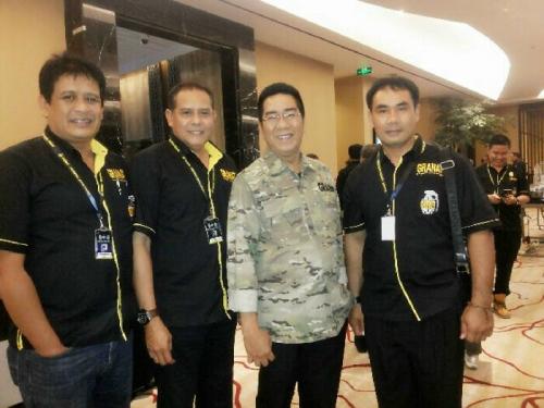 Pengurus DPC Khusus Granat Mandau-Pinggir Hadiri Munas II di Bandung