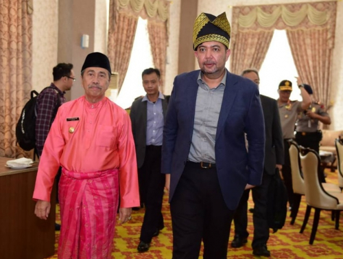 Pemprov Riau akan Lakukan Kerjasama 4 Bidang dengan Malaysia