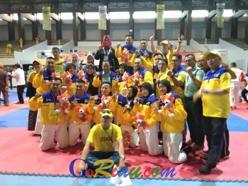 Kempo Riau Sumbangkan 4 Medali di Hari Pertama Porwil X Bengkulu