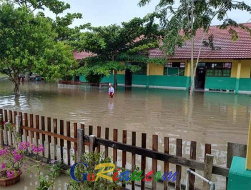 Kabut Asap Hilang, Kini Kota Bagansiapiapi Dihantui Banjir