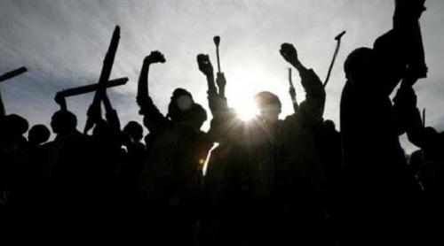 30 Orang Polisi Sabhara Polda Riau Serang Kantor Satpol PP Pekanbaru, 3 Terluka
