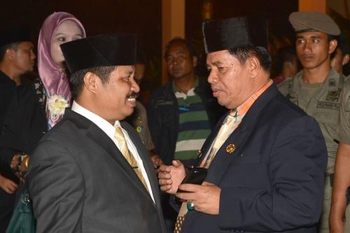 Pasca Disahkan DPRD sebagai Bupati dan Wakil Bupati Bengkalis Terpilih, Amril-Muhammad Bukan Lagi Milik Parpol Atau Timses