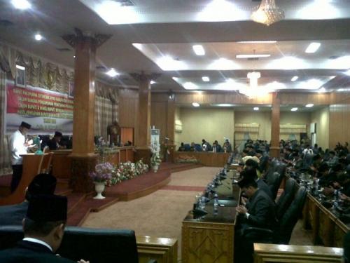DPRD Sahkan Amril-Muhammad sebagai Bupati dan Wakil Bupati Bengkalis Terpilih