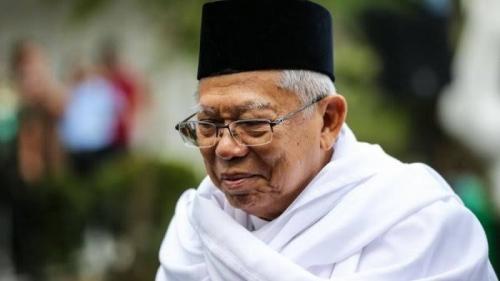 Maruf Amin Dukung Rekomendasi NU Hapus Istilah Kafir