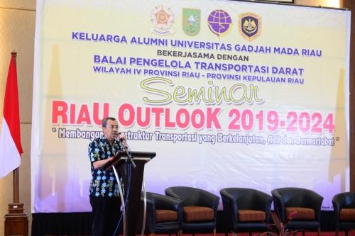 Gubri Syamsuar: Kendaraan Angkutan yang Melebihi Tonase Rusak Jalan di Riau