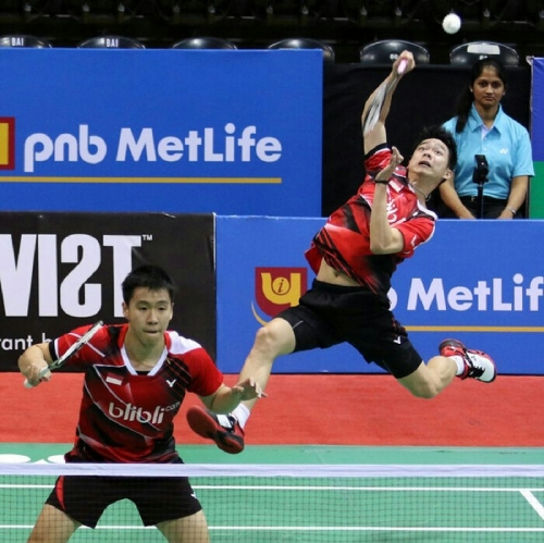 India Terbuka Super Series, Ganda Putra All Indonesian Final