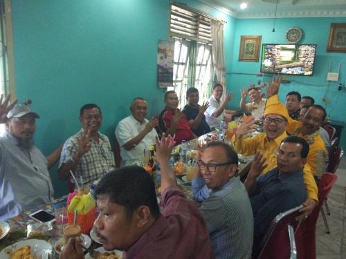 Andi Rachman Sarapan Pagi dengan Tokoh Lintas Etnis di Mandau