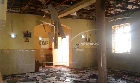 Masjid Dibom Jelang Shalat Subuh, 28 Jamaah Tewas dan 56 Terluka