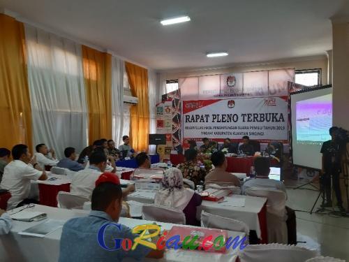 Agar Pleno Berjalan Lancar, 200 Personil Gabungan Siaga di KPU Kuansing