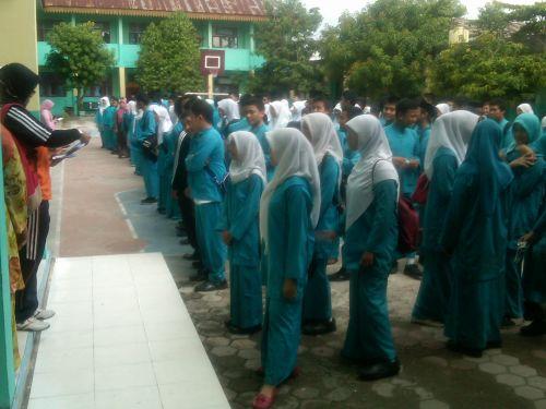 Inilah Sembilan Siswa SMPN 1 Pekanbaru dengan Nilai Tertinggi.