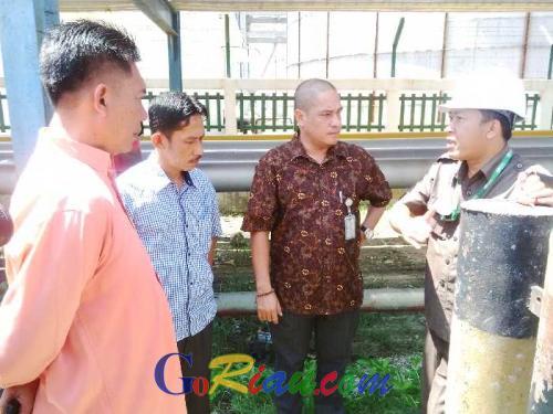 Dikeroyok Pertanyaan oleh Awak Media, Humas PT Kuala Lumpur Kepong di Dumai Nanti Dulu Ya