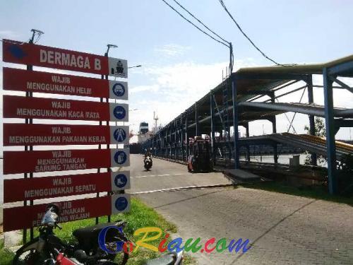 Subuh Tadi, Crude Palm Oil PT Kuala Lumpur Kepong Tumpah di Dermaga B Pelindo 1 Dumai