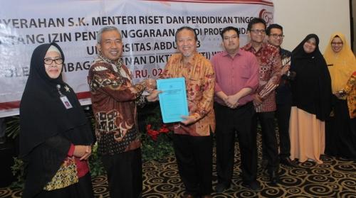 Univrab Pekanbaru Resmi Buka Prodi S1 Profesi Bidan