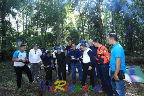 Keturunan Raja ke-13 Ini Akan Membuat Makam Datuk Moyang Suku Mandailing di Rokan Hulu Jadi Destinasi Wisata