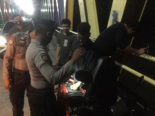 Antisipasi Gangguan Kamtibmas, Polres Kepulauan Meranti Patroli KRYD