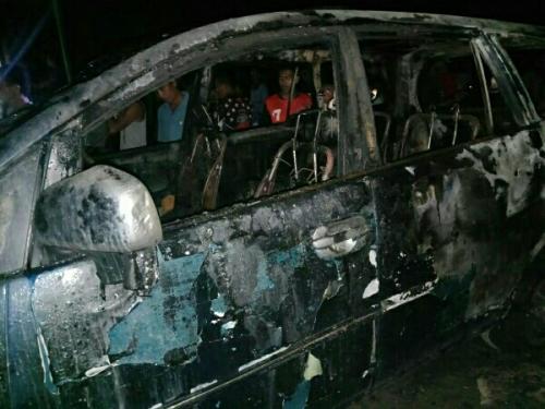 Kebakaran Los Pasar Teluk Meranti Pelalawan, Mobil dan Motor Ikut Terbakar