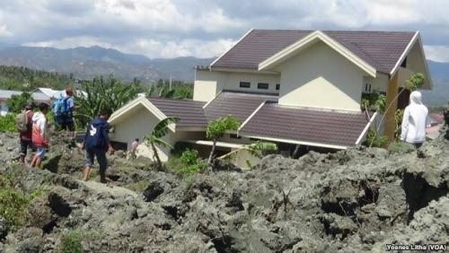 1.747 Rumah di Perumnas Balaroa Amblas Ditelan Lumpur, Jumlah Korban Jiwa Belum Diketahui