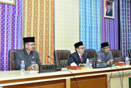 DPRD Bengkalis Umumkan Ketua dan Wakil Ketua Definitif