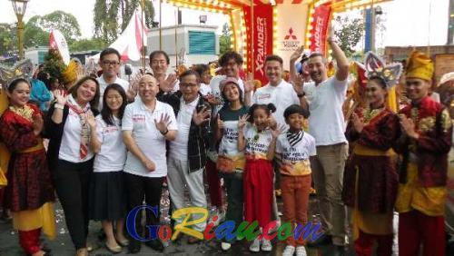 Hadir di Pekanbaru, Xpander Tons of Real Happiness Bawa Kebahagiaan Bagi Keluarga di Kota Bertuah