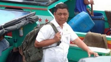 Lolos dari Musibah Lion Air JT 610, Saiful Rahman Sujud Syukur di Masjid Agung Palembang