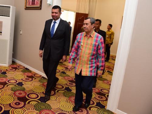 Wakil Menlu Malaysia: RoRo Dumai - Malaka Beroperasi 2020