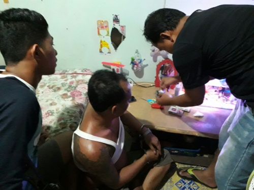 Dua Pria di Kandis Dibekuk Sat Narkoba Polres Siak