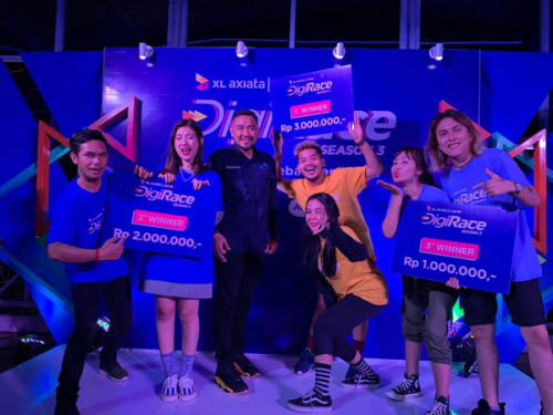 XL Axiata Gelar Kompetisi DigiRace 2019,  Uji Kualitas Jaringan Fiberisasi di Palembang