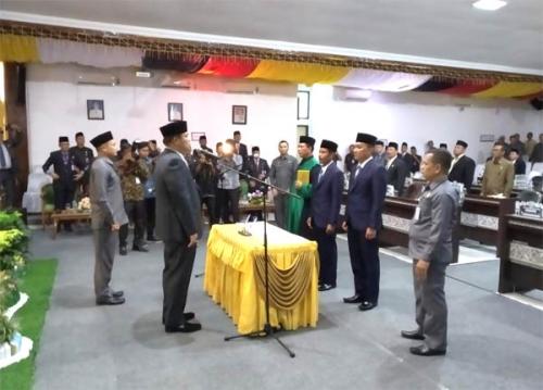 Wachid Insyani dan Syafri Said Siap Jalankan Tugas di DPRD Kuansing