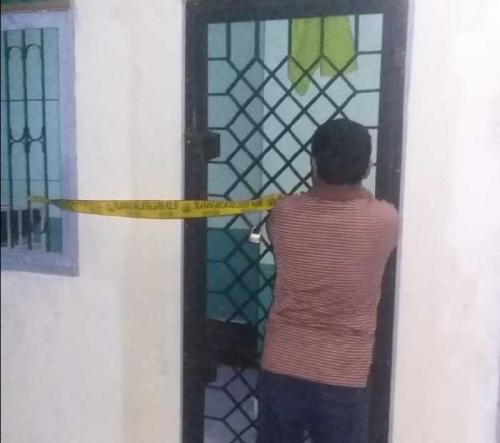Pegawai Rumah Sakit Jiwa Tampan Pekanbaru Temukan Pasien Tergantung di Pintu