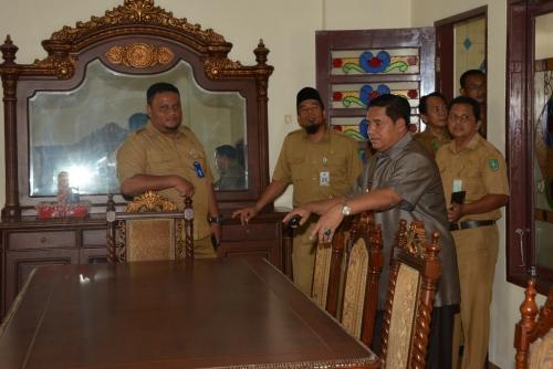 Jelang Pelantikan Bupati dan Wakil Bupati Bengkalis Terpilih, Pj Tinjau Kondisi Rumah Dinas Wabup