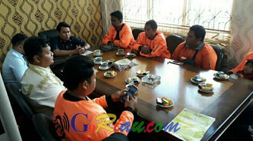 Wakil Katua DPRD Pelalawan Terima Kunjungan Finderiau