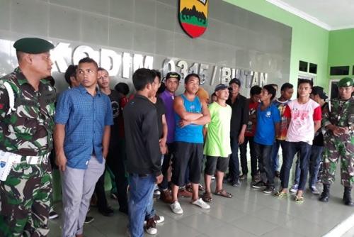 27 TKI Ilegal yang Diamankan TNI AD di Bintan Berasal dari 4 Provinsi, Ini Identitasnya